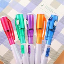 廣告創意可愛新奇特帶燈發光手電筒多功能圓珠筆學生禮品