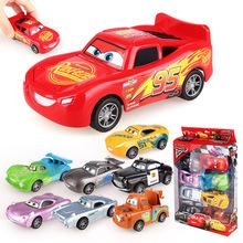 閃電麥昆黑風暴傑克遜男女孩兒童玩具汽車 塑料賽車總動員回力車