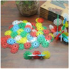 120片/包 优质雪花片积木  经典儿童玩具早教亲子益智玩具