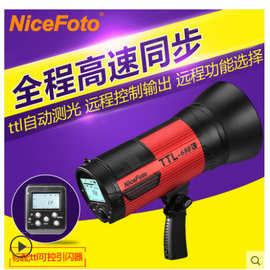 耐思TTL-680C無線外拍燈 高速同步大功率閃光燈 外影攝影燈