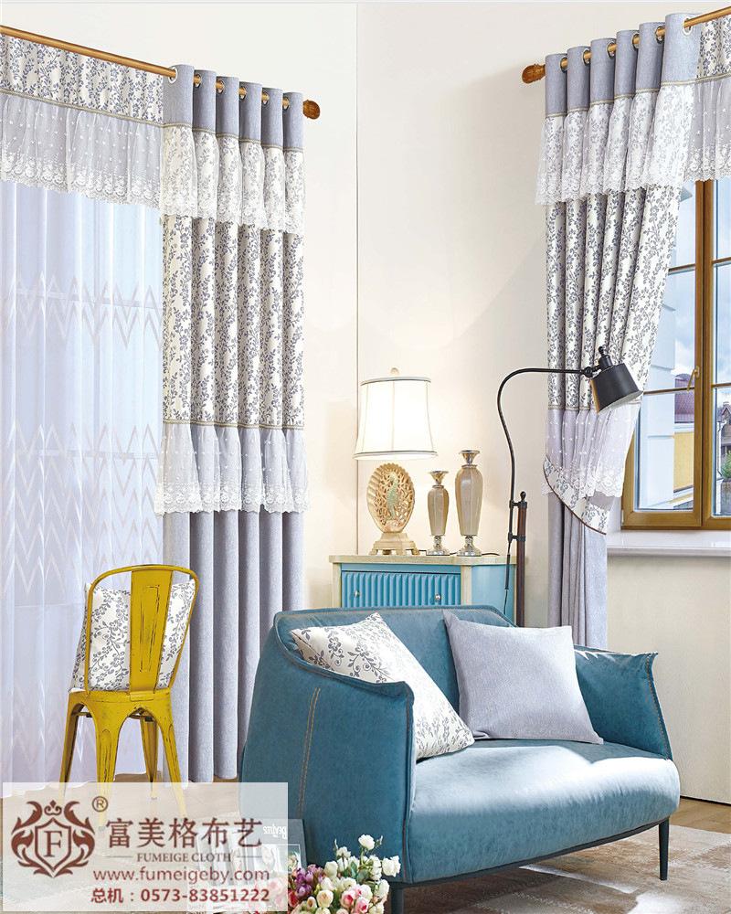吉林富美格窗帘简约现代窗帘投资,惠通布艺明清古典窗帘搭配体现高逼格