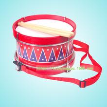 simyi打击手敲鼓儿童幼儿早教音乐玩具乐器手敲鼓带绳腰鼓军鼓1.