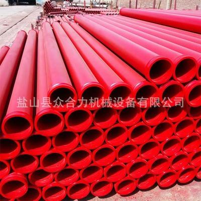 众合力厂家定做 125mm*3m 高压无缝20#钢混凝土泵管