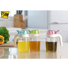 玻璃小调味瓶厨房用品外贸防漏多功能创意酱油壶醋壶调味瓶300ML