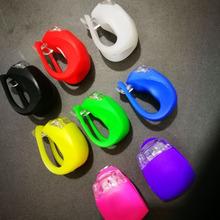 廠家批發山地車燈 自行車五代LED硅膠青蛙燈 LED甲蟲燈 單車配件