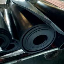 新品上架3mm阻燃橡胶板 防火黑色绝缘橡胶板 现货供应