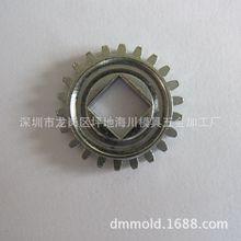 電子鎖小齒輪  高精密圓芯軸四方形指紋鎖 齒輪