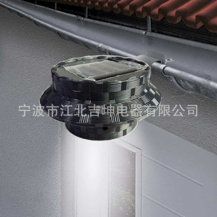 太阳能圆型藤编水槽灯 AMAZON EABYwiSH 专业供应商