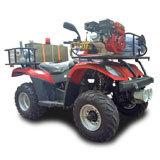200型手扶式消防摩托车