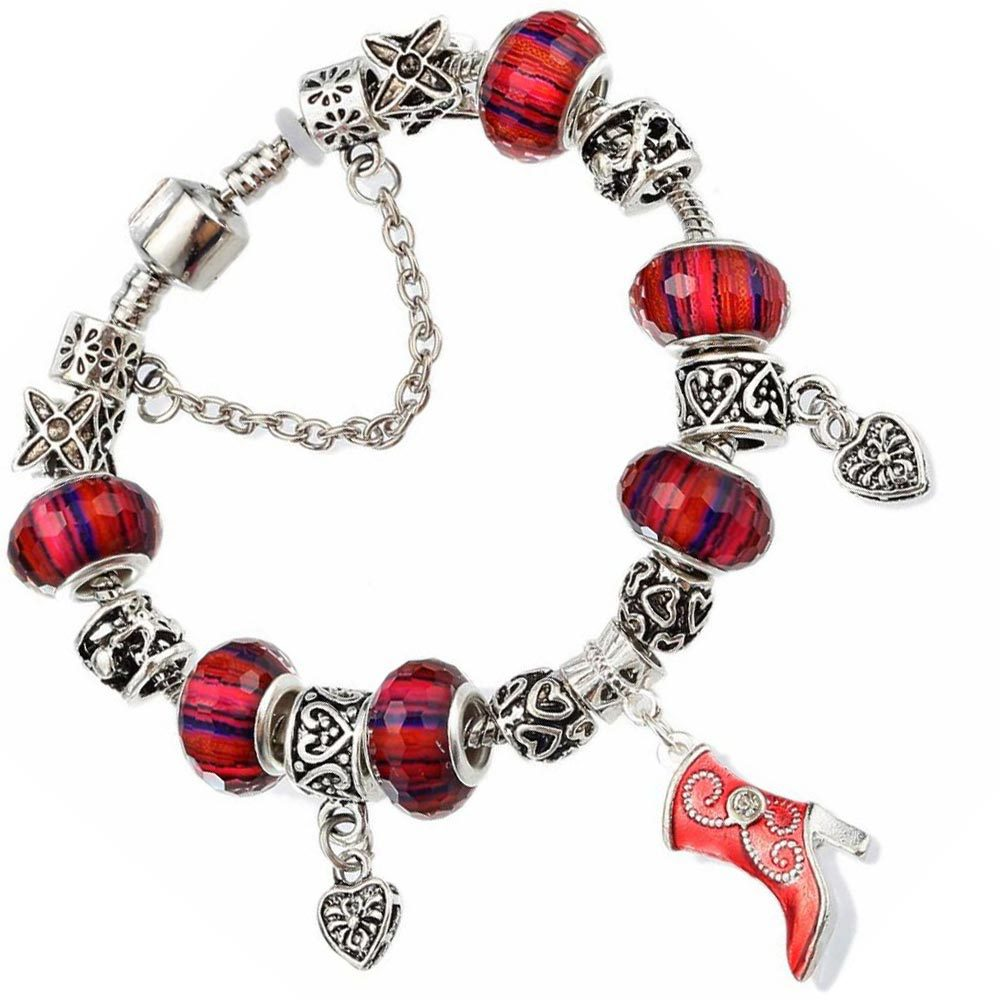 Alloy Fashion Sweetheart bracelet(19cm) NHMM2162-19cm
