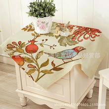 遇見 家用裝飾布外貿床頭柜罩 韓式床頭柜防塵布藝罩 淘寶熱銷