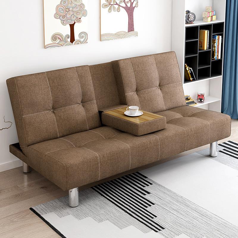 折叠沙发床两用?#23478;?#27801;发小户型多功能双人客厅简约现代多功能简易