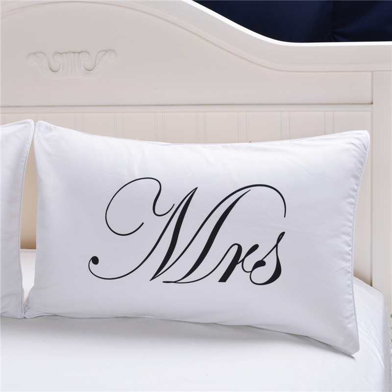 Mr And Mrs Pillow Case (3)
