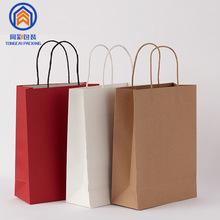 现货礼品手提牛皮纸袋包装袋 服装袋牛皮纸礼品袋 可定制