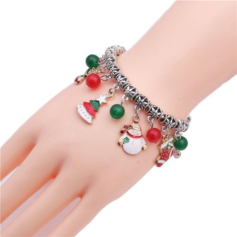 Alloy Fashion Geometric bracelet  (Christmas tree) NHYL0189-Christmas-tree