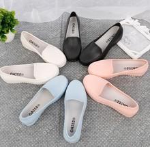 Thấp để giúp miệng nông đi mưa mới giày nữ thời trang ống ngắn giày nữ chống trượt giày chống nước bán buôn Giày đi mưa nữ
