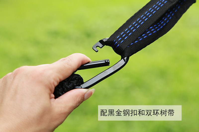 Flat buckle simple tree belt 1