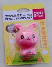 得力0560卷笔刀悠悠兔学生卷笔刀可爱动物款小兔子笔刨