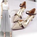 Giày cao gót nữ, màu sắc thanh lịch trẻ trung, thời trang Hàn Quốc