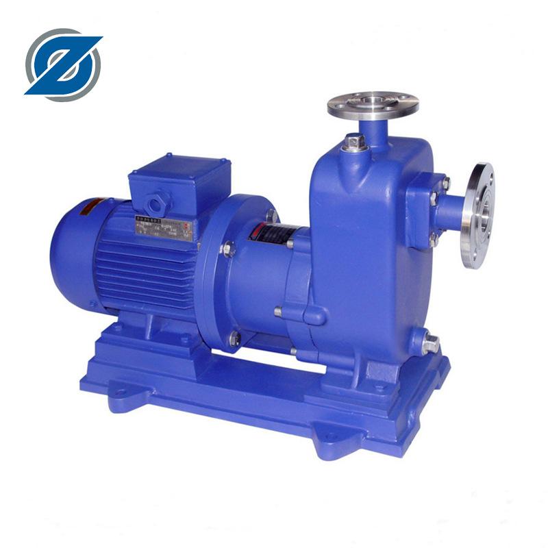 直销ZCQ50-40-160防爆型自吸式自吸泵 自吸磁力泵 自吸磁力驱动泵