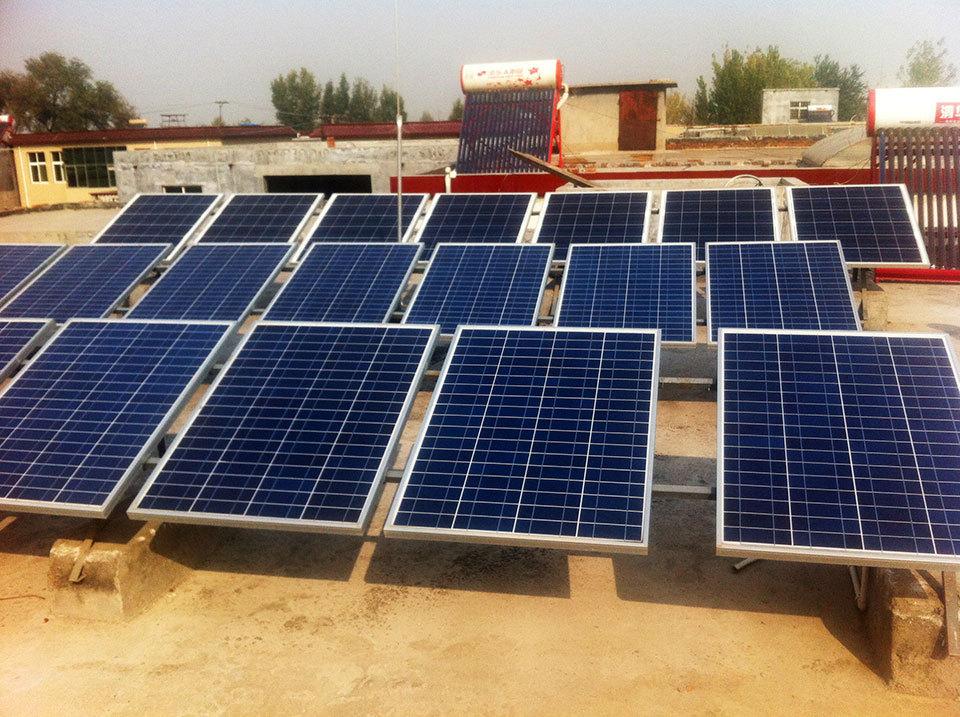 新源阳光太阳能光伏发电_新源阳光光伏农业大棚施工技术