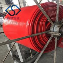 供应聚氨酯水带厂家生产各种口径10寸高压TPU水带输石油防静电