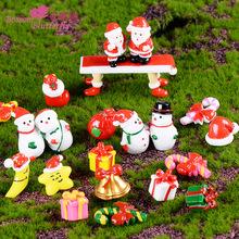 圣诞ins装饰品摆件树脂工艺品礼物创意圣诞老人雪人家居小礼品