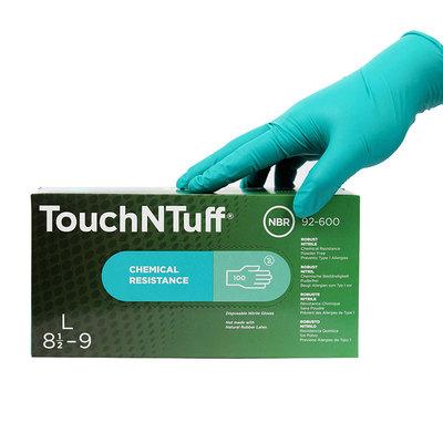 安思尔92-600一次性丁腈手套 实验手套 食品手套防化耐油检查手套