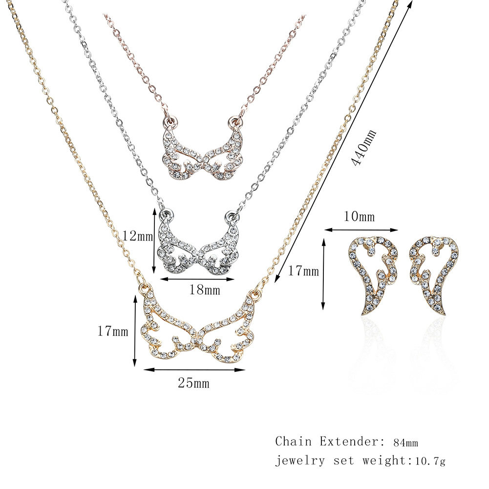 Korea Alloy Diamond Necklace (61178071)NHXS1469-61178071