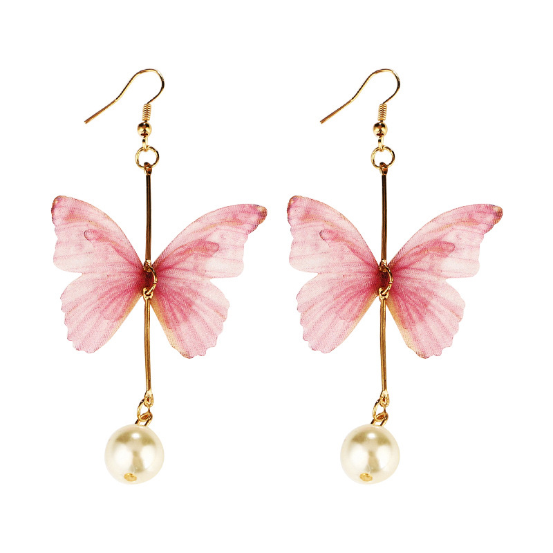 Korea style earring (Pink)NHGY0316-Pink