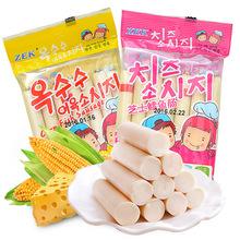 韩国进口零食ZEK芝士鳕鱼肠休闲食品105g/袋 进口休闲零食
