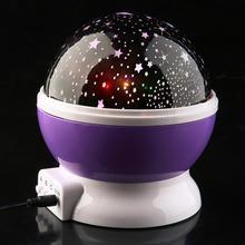 廠家直銷旋轉LED星空投影燈星光燈星星燈滿天星燈創意LED夜燈浪漫