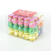 厂家直销 许愿瓶星星果冰糖360g盒装趣味水果糖孩子零食糖果批发