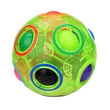 供应外贸热销爆款儿童益智彩虹足球魔方成人休闲减压发泄玩具赠品