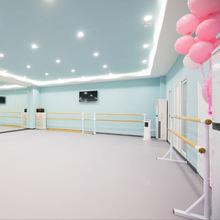 专业舞蹈教室地胶PVC塑胶地板无划痕 舞蹈房地胶防滑加厚塑胶地板
