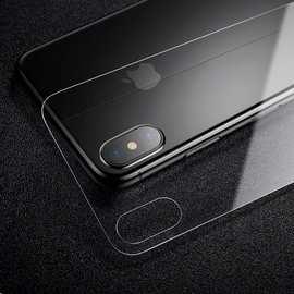 现货供应适用iPhone X背贴 iPhone X钢化玻璃膜 外单品质手机贴膜