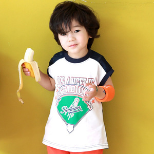 AJ1018 Korean version of children's clothes and net cloth splice vest children's T-shirt without sleeve summer dress