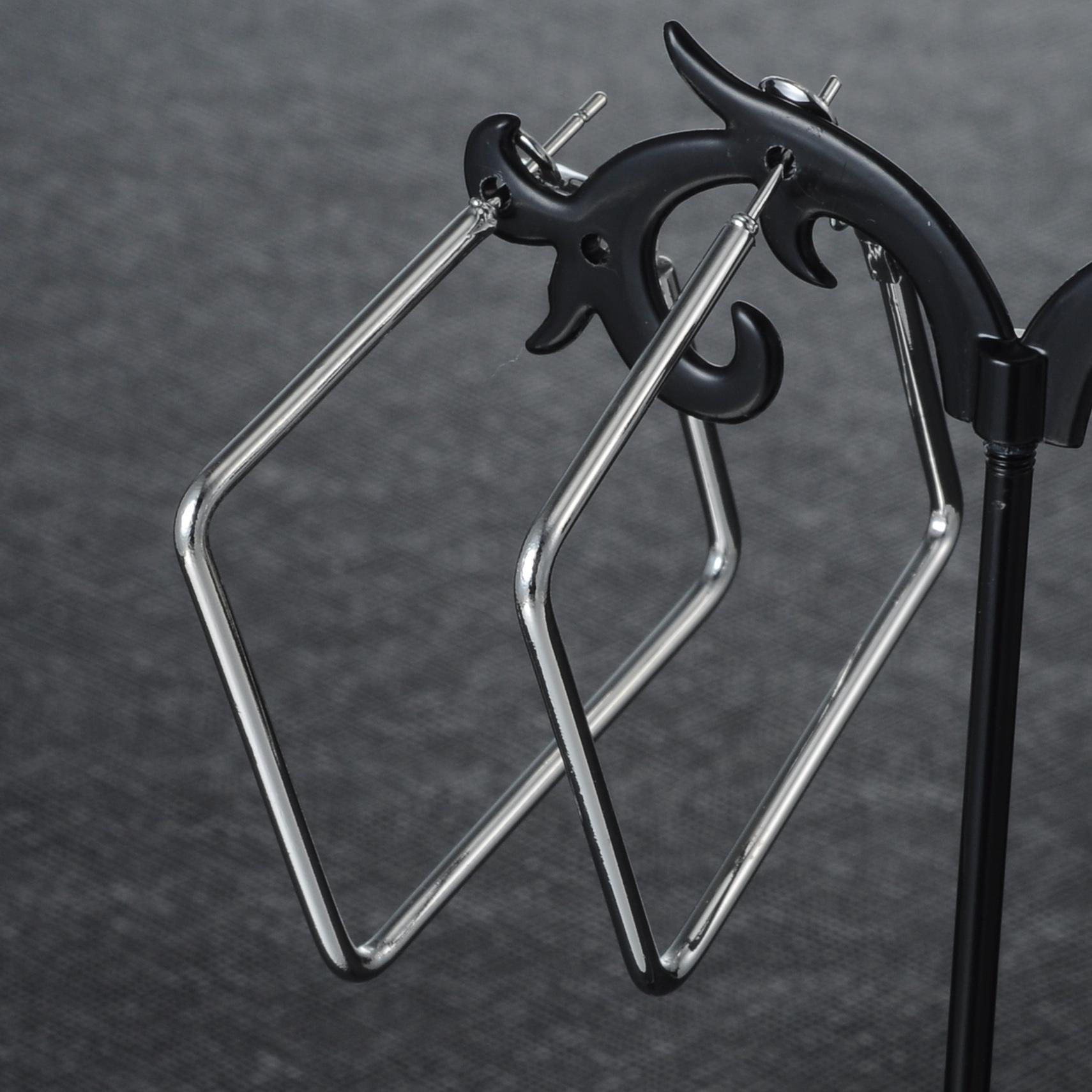 Fashion Imitated crystalCZ plating earring Geometric Alloy 4cm  NHIM1049Alloy 4cm