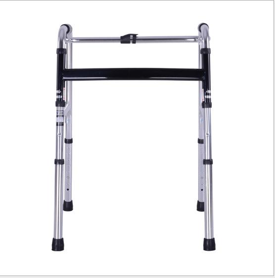 厂家直销老人助行器带轮助行器助步器残疾人康复带座助行器