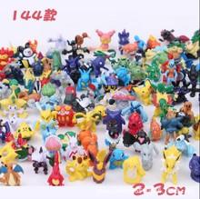 神奇宝贝144款宠物小精灵迷你小号手办公仔玩偶玩具