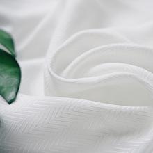 60支人造棉布料批发 波浪纹连衣裙半漂服装面料  厂家直销现货