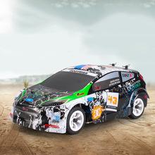 伟力K989高速车 1:28电动四驱越野车 2.4G合金底盘遥控车 玩具车
