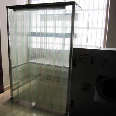 东莞佳创净化厂家生产优质防静电门帘 无尘车间透明PVC隔断帘