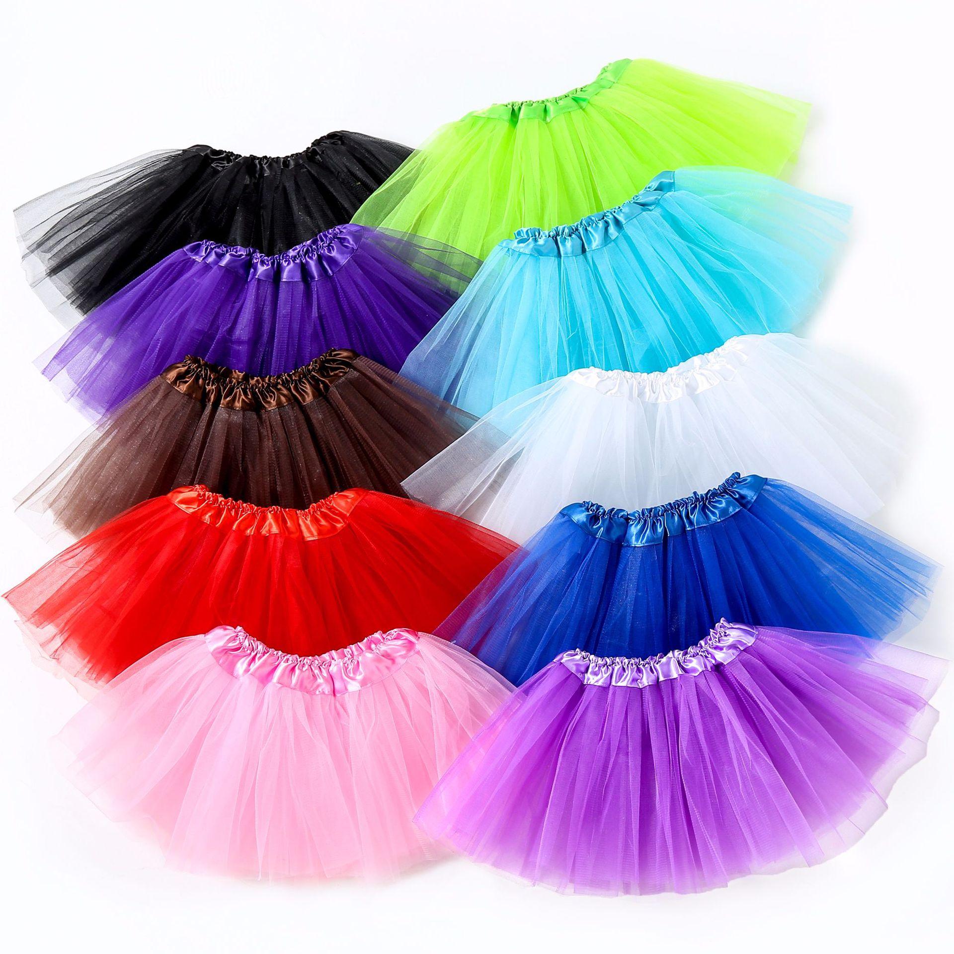 2020嬰兒裙夏季 女童半身裙網紗 兒童30cm公主裙 tutu裙廠家直銷