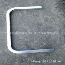 深圳不锈钢拉管**定制加工**弯管加工*304方管弯管*201装饰管拉弯