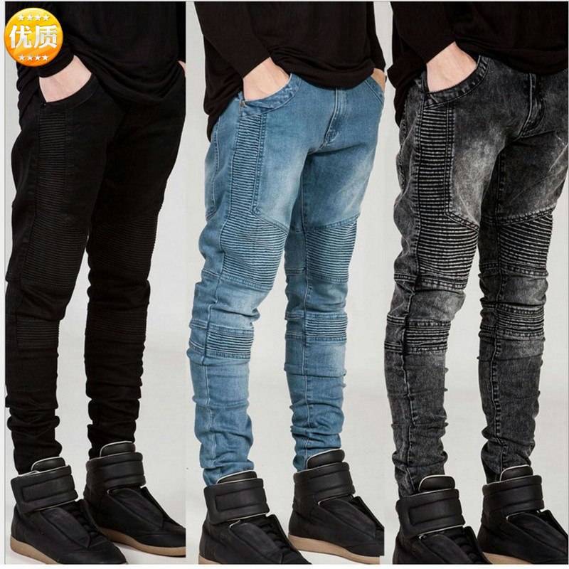 Biker Jeans Chao Brand Motorcycle Pants