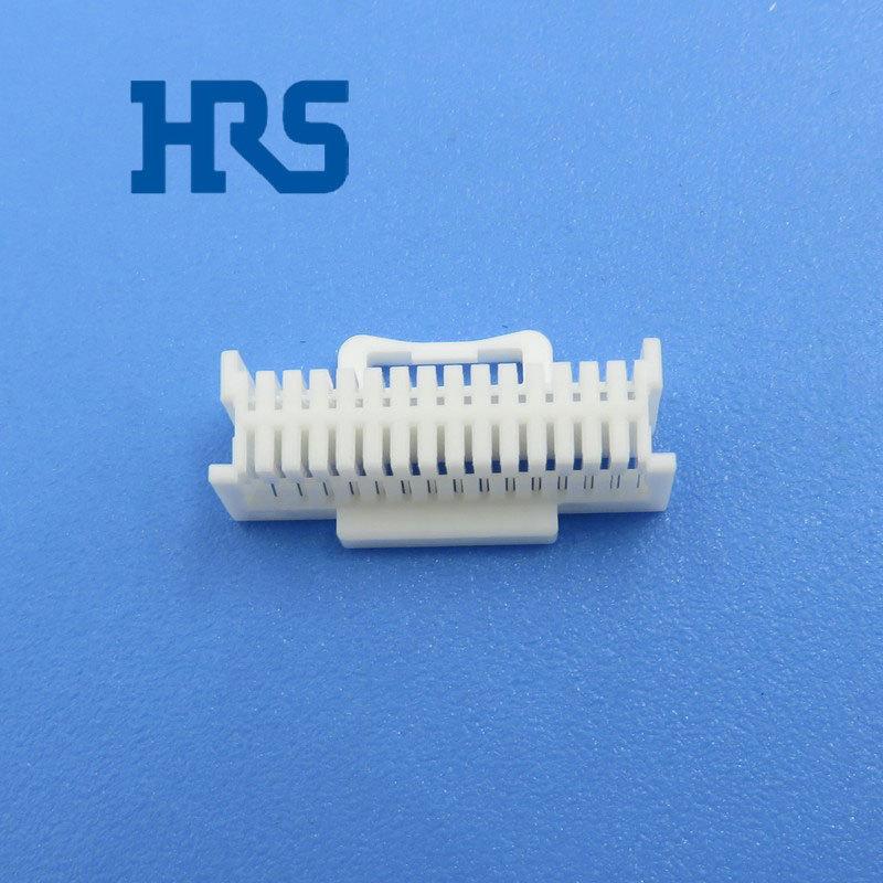 HRS连接器DF50S-30DS-1C广濑白色胶壳
