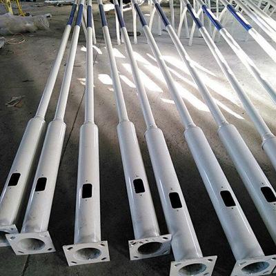 路灯杆6米10米单臂路灯杆支架新农村户外LED太阳能路灯杆生产厂家