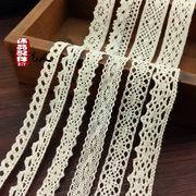 厂家批发精细新款 纯棉棉线花边/多规格 服饰辅料