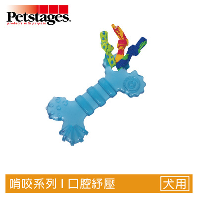 Petstages 宠物舞台 狗狗玩具 欧卡迷你耐咬骨头